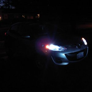 HID at night!